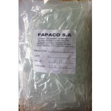 Cucharita Plastica Transparente Tipo Pala 100x10x20mm Paquete De 250 Uds