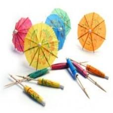 Sombrilla Coktail Colores Paquete De 100 Uds Caja De 24 Paquetes
