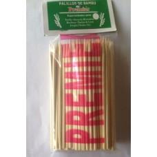 Chuzo Bambu Paq 100unds 5mmx160mm. Caja Con 100 Paquetes
