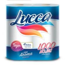 Papel Higienico Lucca 6x4x1000 Hd