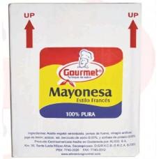 Mayonesa institucional estilo francés  3645grs - 6 uds por caja