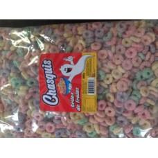Cereal Aros De Frutas (Medio Kilo) Chasquis