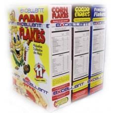 Combo De 3 Cajas De Cereales Hoj Natural, Azucarada Y Chocolates 680 Gramos