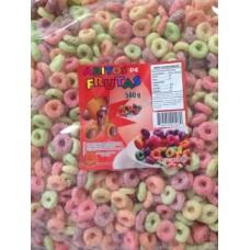 Cereal Aros De Frutas 1/2k